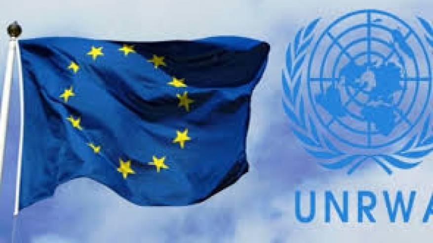 الاتحاد الأوروبي يُقَدِّم 82 مليون يورو للأونروا