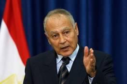 أبو الغيط يبحث مع وزير خارجية إيطاليا سبل دعم