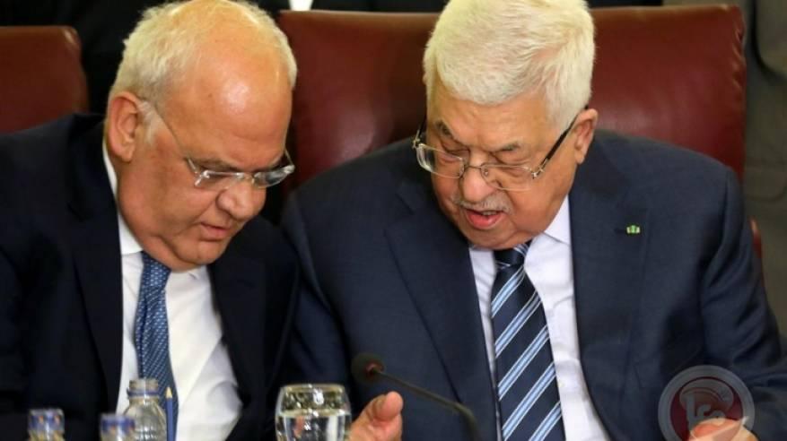 الرئيس ينعى أمين سر اللجنة التنفيذية لمنظمة التحرير صائب عريقات