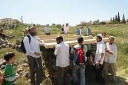 مستوطنون يقتحمون قرية عورتا جنوب نابلس