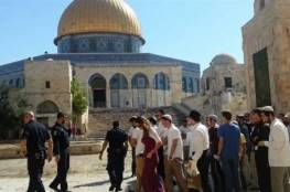 62 مستوطنا يقتحمون المسجد الأقصى