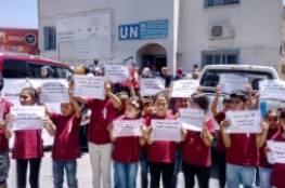 اعتصام في مخيم الدهيشة ضد محاولات شطب وكالة الغوث الدولية
