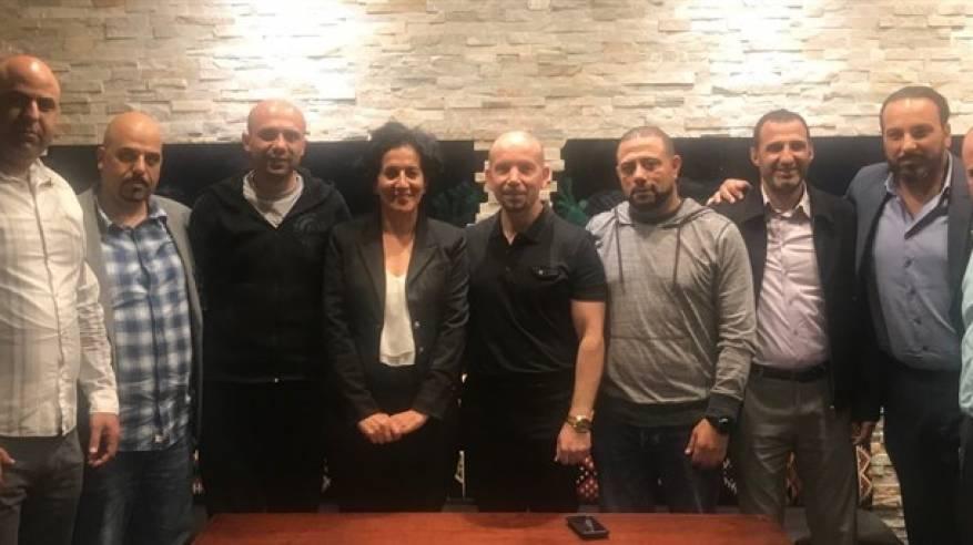 النادي الفلسطيني الأمريكي يستقبل مدير عام ماراثون فلسطين