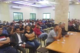 الدكتور ابو هولي يهني الفائزين بعضوية اللجنة الشعبية لخدمات مخيم العرّوب