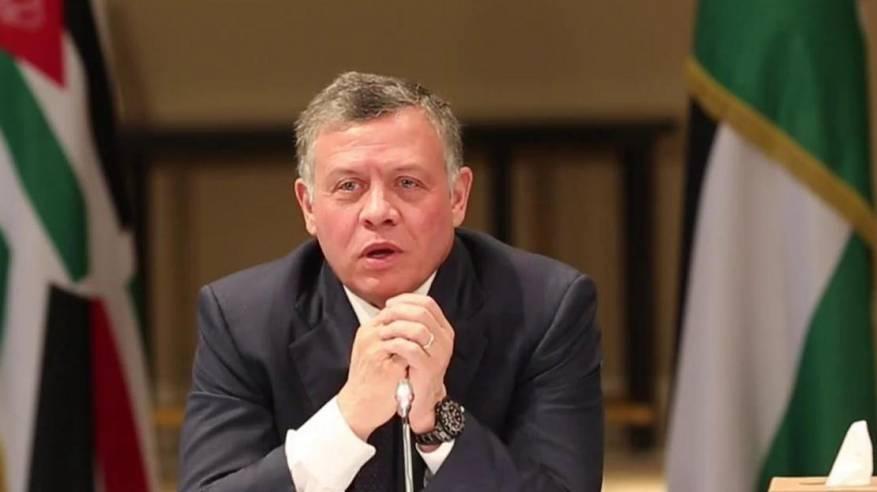 العاهل الأردني يحذر من استمرار رفض إسرائيل لحل الدولتين ويصفه بـ