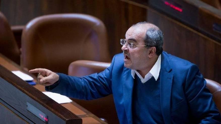 الطيبي: نتنياهو يتهم فلسطينيي 48 بتزوير انتخابات