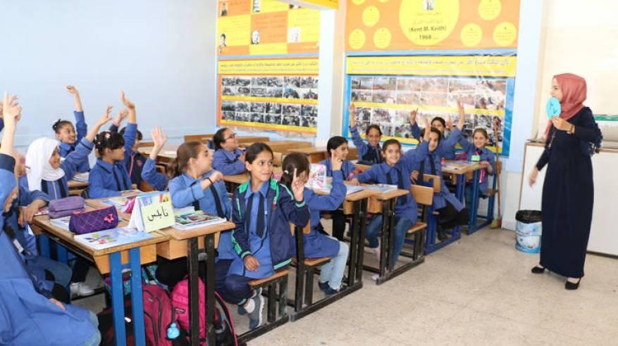 الأونروا تحتفل باليوم العالمي للمعلم لعام 2019