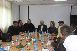 مؤسسة محمود عباس وشؤون اللاجئين توزعان اجهزة لاب توب على المراكز النسائية في مخيمات الضفة