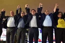 الأحزاب العربية توصي بتكليف غانتس
