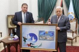 الرئيس يستقبل رئيس جمعية الأخوة والصداقة الجزائرية – الفلسطينية