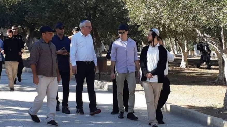 وزير الزراعة الإسرائيلي يقود اقتحاما استفزازيا للأقصى