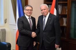 المالكي يطالب التشيك بالالتزام بالقانون الدولي بشأن القدس