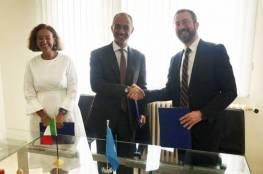 إيطاليا تتبرع بمبلغ 1,9 مليون يورو لبرنامج الأونروا الصحي في غزة