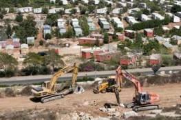 الاعلان عن بناء 164 وحدة استيطانية جنوب بيت لحم