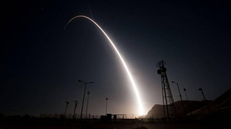 الولايات المتحدة تختبر صاروخا باليستيا عابرا للقارات