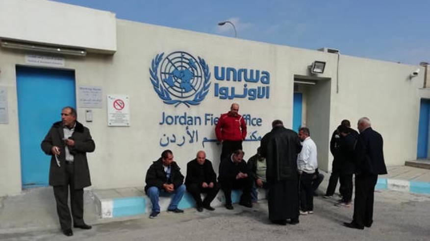انهاء اضراب العاملين في الأونروا بالاردن