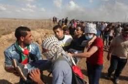 إصابات خلال قمع الاحتلال المسيرات السلمية الأسبوعية شرق قطاع غزة