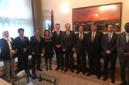 سفيرتنا في هولندا تلتقي المفوض العام للأونروا في لاهاي