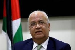 عريقات يطالب دول العالم بالضغط على إسرائيل لإطلاق سراح الأسير أبو وعر والأسرى المرضى قبل فوات الأوان