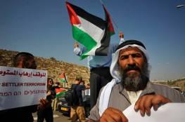 أصحاب الأراضي المحاذية للمستوطنات غرب جنين يعتصمون تنديدا بمنعهم دخول أراضيهم