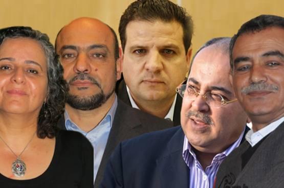 اسرائيليون يطالبون بسحب جوازت سفر النواب العرب وابعادهم إلى غزة