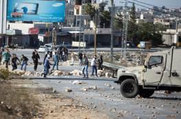 15 إصابة بمواجهات مع الاحتلال في الجلزون