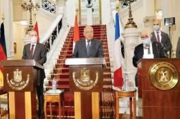 مصر والأردن وفرنسا يطالبون بوقف جميع الإجراءات الأحادية التي تقوّض حل الدولتين