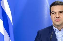 رئيس الوزراء اليوناني يعرب عن تضامنه وشعبه مع فلسطين للوصول للسلام
