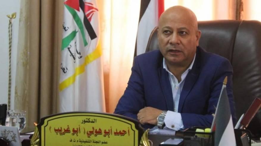 د. ابو هولي : مؤتمر المشرفين يرفض قانون القومية الإسرائيلي ويؤكد على أن الدول العربية المضيفة لن تكون بديلاً عن الأونروا