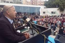 د. ابو هولي الكل الفلسطيني سيقف يدا واحدة في اسقاط المؤامرة التصفوية والحفاظ على الاونروا