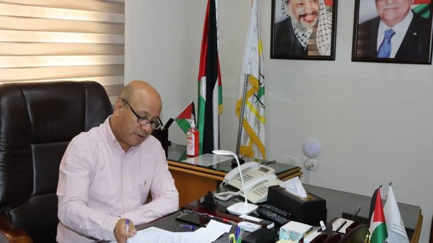 د. ابو هولي اجتماعات اللجنة الاستشارية للأونروا تبدأ غداً الأربعاء والازمة المالية على جدول اعمالها