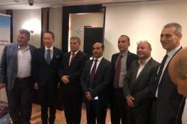 د. ابو هولي يبحث مع السفير الياباني اوضاع اللاجئين الفلسطينيين في المخيمات
