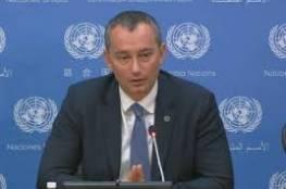 ملادينوف: هجوم المستوطنين على موكب الحمد الله حادث مقلق للغاية