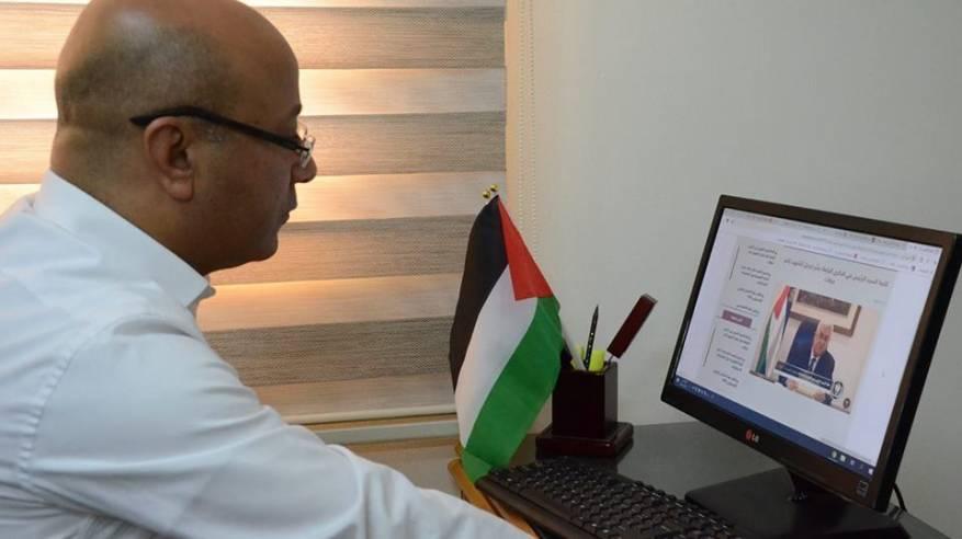د. ابو هولي: يدعو الى تعزيز الوحدة الوطنية والالتفاف حول القيادة لحماية المشروع الوطني واسقاط صفقة القرن