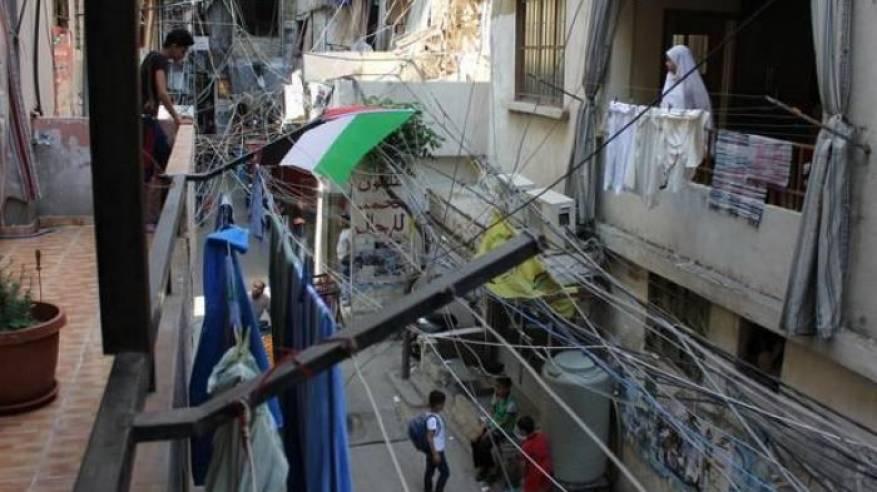 مخيم شاتيلا للاجئين الفلسطينيين