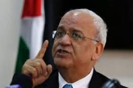 عريقات: تقرير العنصرية الإسرائيلي انحطاط وعار على الانسانية والاحتلال اعلى مراحل الفساد