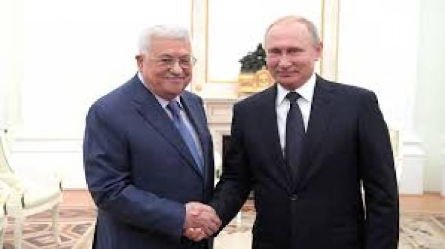 الرئيس يهنئ نظيره الروسي بعيد النصر المجيد