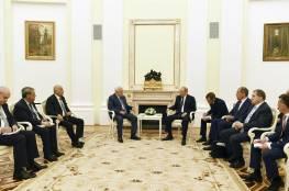 الرئيس يجتمع مع نظيره الروسي