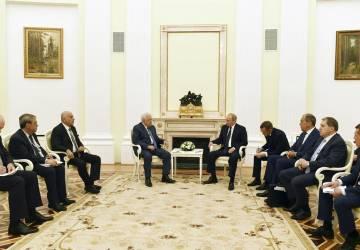 لقاء الرئيس روسيا