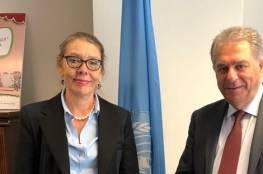 دبور يلتقي المنسقة الخاصة للامم المتحدة في لبنان