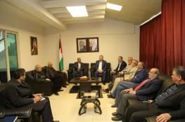 د. ابو هولي يبحث مع رؤساء اللجان الشعبية احتياجات المخيمات في لبنان