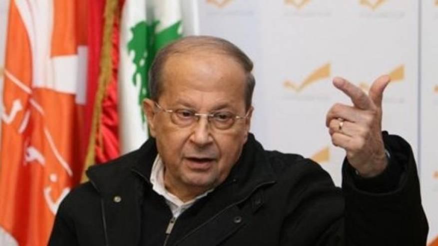 الرئيس عون:  السلام لا يقوم بينما تجري الصفقات على حساب اللاجئ الفلسطيني
