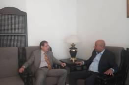 د. ابو هولي يطالب روسيا التحرك على المستوى الدولي لدعم تجديد تفويض عمل وكالة الغوث