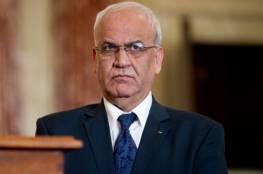 عريقات: لا يمكن لأي أحد أن يوسم نضال الشعب الفلسطيني بالإرهاب