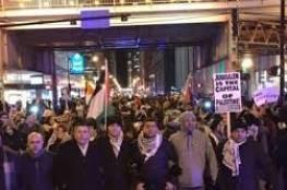 الجالية الفلسطينية في أميركا تحيي ذكرى يوم الأرض