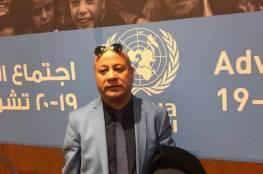 د. ابو هولي يطالب الأونروا العدول عن قرارتها التقشفية التي اتخذتها للخروج من ازمتها المالية
