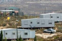 مستوطنون ينصبون كرفانا غرب بيت لحم لإقامة بؤرة استيطانية