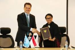 اندونيسيا تساهم بقيمة مليون دولار لصالح