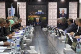 مجلس الوزراء يؤكد على موقف الرئيس بعدم استلام أموال المقاصة منقوصة