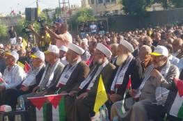 مهرجانٌ مركزي حاشد في مخيم الرشيدية إحياءً للذكرى الـ70 للنكبة